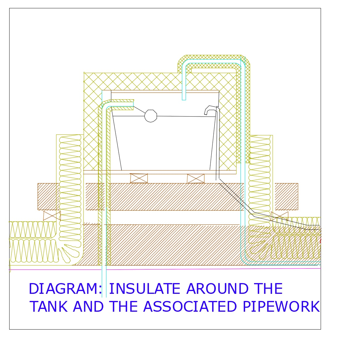 DIAGRAM D24 WATER CISTERN INSULATION